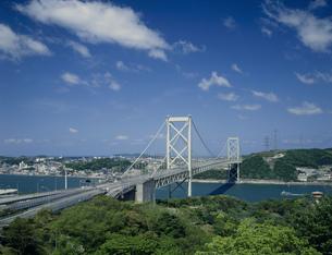 関門大橋の写真素材 [FYI03263826]