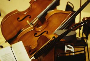 オーケストラのコントラバスの写真素材 [FYI03264261]