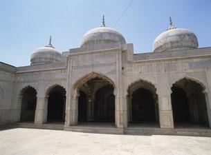 ラホール城の真珠のモスクの写真素材 [FYI03264319]