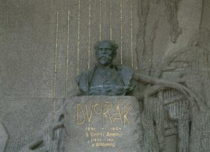 ドヴォジャークの墓の写真素材 [FYI03264346]