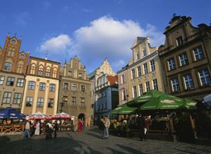 旧市場広場の写真素材 [FYI03264395]
