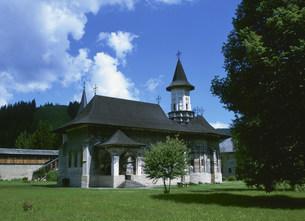 スチェヴィツァ修道院の写真素材 [FYI03264673]