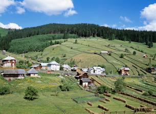 農村風景の写真素材 [FYI03264711]