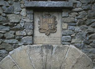 旧議会場紋章の写真素材 [FYI03265074]