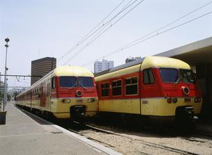 ONCF(モロッコ国営鉄道)ラバト駅の写真素材 [FYI03265204]