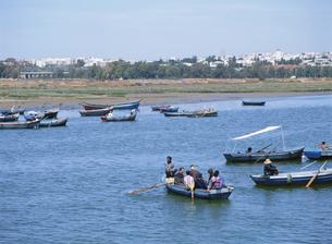 ブーレグレグ川渡し船の写真素材 [FYI03265222]