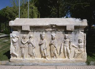 石棺レリーフの写真素材 [FYI03265555]