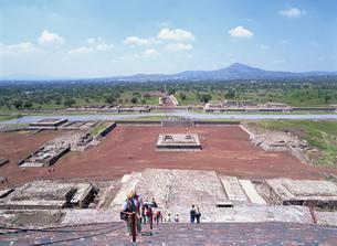 テオティワカンの太陽ピラミッドの写真素材 [FYI03265763]