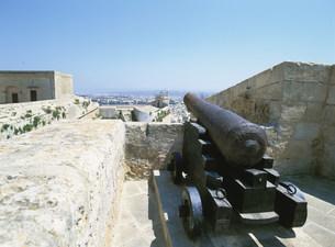 城塞の大砲の写真素材 [FYI03266187]