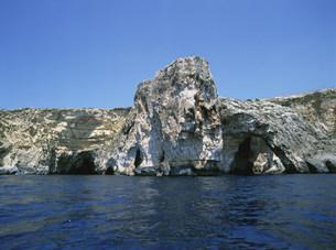 青の洞窟 ブルーグロットーの写真素材 [FYI03266190]