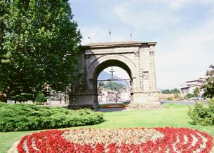 アウグストゥス帝凱旋門の写真素材 [FYI03266816]