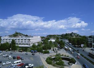 中央広場 プロヴディフ ブルガリアの写真素材 [FYI03266978]