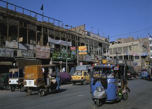 リキシャー ペシャワール パキスタンの写真素材 [FYI03267090]