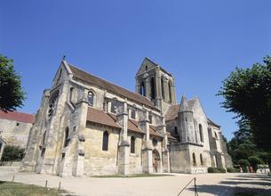 ゴッホの教会 オーヴェール・シパリ郊外 フランスの写真素材 [FYI03267121]
