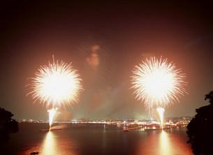 江ノ島の花火の写真素材 [FYI03267303]