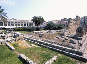 アポロ神殿の写真素材 [FYI03267351]