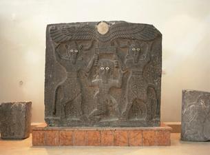 神話の彫刻 考古学博物館の写真素材 [FYI03267672]