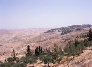 ネボ山からヨルダン渓谷を望むの写真素材 [FYI03267717]