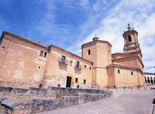 サント・ドミンゴ・デ・シロス修道院の写真素材 [FYI03267811]