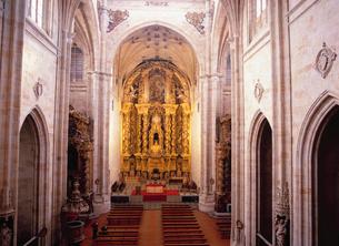 サン・エステバン修道院の礼拝堂の写真素材 [FYI03267816]