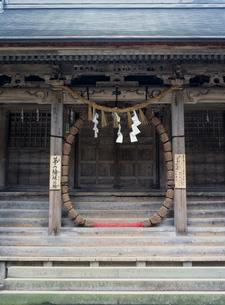 中尊寺の白山神社の写真素材 [FYI03268235]