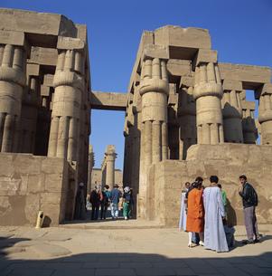 ルクソール神殿の写真素材 [FYI03268533]