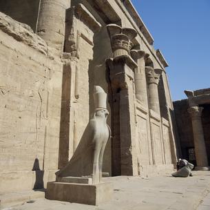 ホルス神殿の写真素材 [FYI03268536]