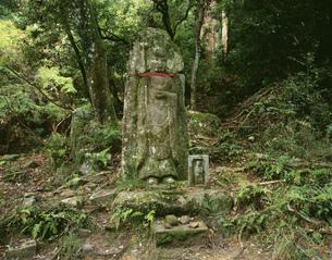 柳生街道 首切地蔵の写真素材 [FYI03268781]