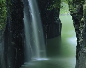 高千穂峡真名井の滝 高千穂町の写真素材 [FYI03268995]