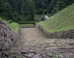 八王子城跡の写真素材 [FYI03269223]