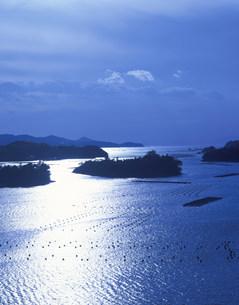 光る英虞湾 桐山展望台の写真素材 [FYI03269514]