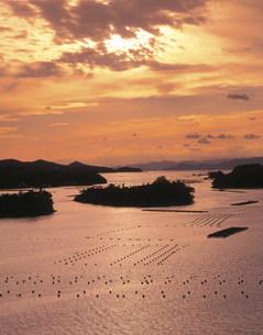 英虞湾の夕景の写真素材 [FYI03269518]