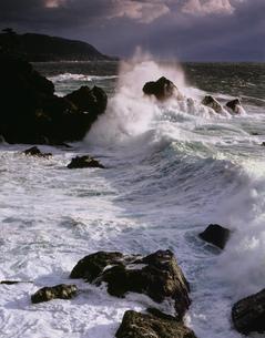 冬の越前海岸の写真素材 [FYI03270541]