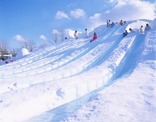 札幌雪まつり 真駒内会場の写真素材 [FYI03270989]