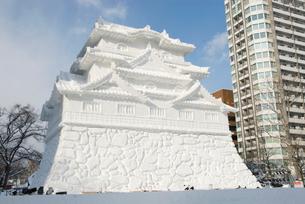 雪まつり HTBの写真素材 [FYI03271559]