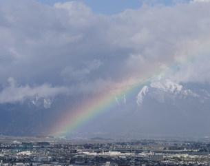 虹の写真素材 [FYI03273750]