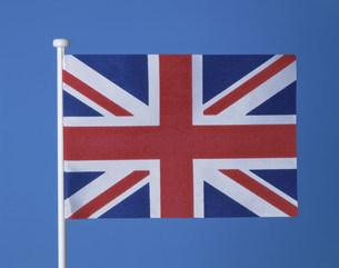 イギリス国旗の写真素材 [FYI03274745]