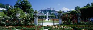 ミラベル庭園の写真素材 [FYI03275169]