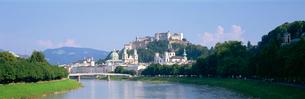 ホーエンザルツブルク城塞の写真素材 [FYI03275479]