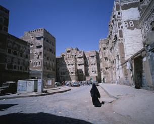 サナア旧市街の写真素材 [FYI03276733]