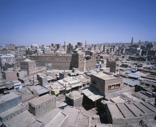 サヌア旧市街展望の写真素材 [FYI03276736]
