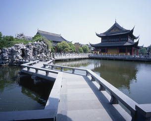 全福寺 周荘鎮の写真素材 [FYI03277253]