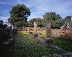 ティパサ遺跡無名神殿の写真素材 [FYI03278104]