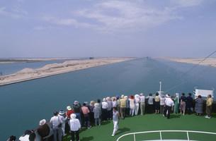 スエズ運河の写真素材 [FYI03278452]