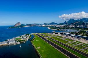 上空からのリオデジャネイロの風景の写真素材 [FYI03278658]