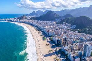 上空からのリオデジャネイロの風景の写真素材 [FYI03278663]