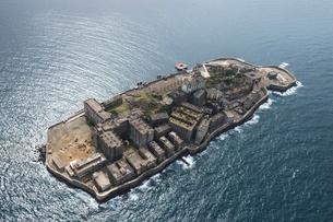 軍艦島の写真素材 [FYI03278949]