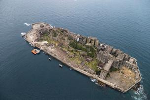 軍艦島の写真素材 [FYI03278961]