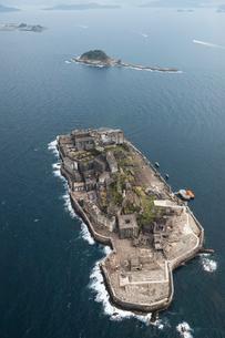 軍艦島の写真素材 [FYI03278966]