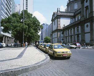 リオのタクシーの写真素材 [FYI03279760]